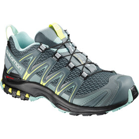 Salomon XA Pro 3D Zapatillas Mujer, stormy weather/lead/eggshell blue